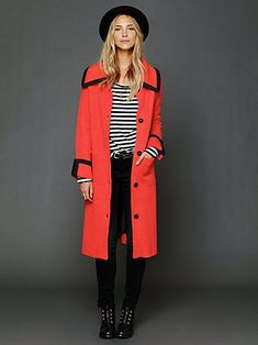 Free People FP New Romantics Long Molly Sweater Coat at Free People Clothing Boutique