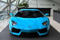 blue lambo