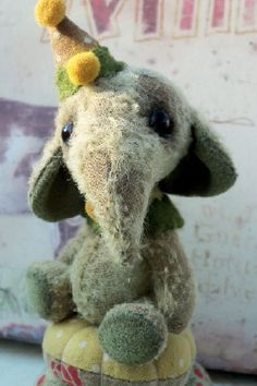 This is such a sweet elephant by Bry Richardson.