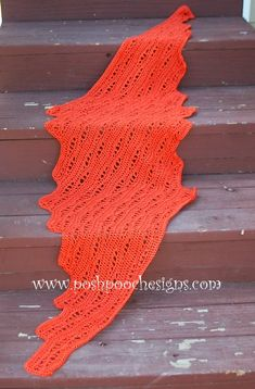 Posh Pooch Designs Dog Clothes: Lace Pumpkin Wrap Shawl Crochet Pattern