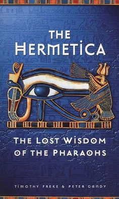 """The Hermetica are Greek wisdom texts from the 2nd and 3rd centuries CE,[1] mostly presented as dialogues in which a teacher, generally identified with Hermes Trismegistus or """"thrice-greatest Hermes"""", enlightens a disciple. The texts discuss the nature of the divine, mind, nature and the cosmos: some touch upon alchemy, astrology and related concepts.    Recent studies suggest they are actually Greek interpretations of far more ancient egyptian wisdom literature from 6th century BC."""