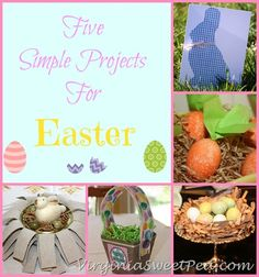 Five Simple Projects for Easter by Sweet Pea