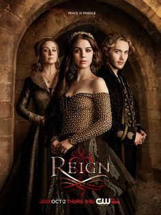Peace is fragile. #Reign Season 2 premieres Thursday, Oct. 2 at 9/8c!