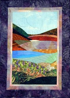 Waterfall Quilts by Kathie Alyce of Plainfield, Vermont