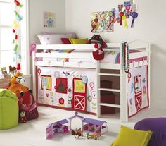 Bunk Bed Tent -- How cute!