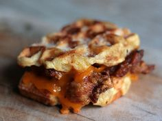 Fried Chicken and Waffle Grilled Cheese | 12 Mouthwatering Grilled Cheese Recipes