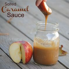 The Farm Girl Recipes: Salted Caramel Sauce#caramel