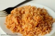 Restaurant Style Spanish Rice. LOVE this recipe on { lilluna.com }