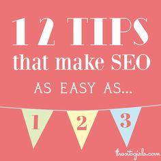 Good SEO tips for bloggers especially.