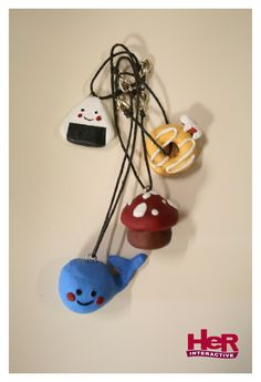 Nancy Drew: Shadow at the Water's Edge phone charms -- key chain size. (Made by a Her Interactive employee for fun).