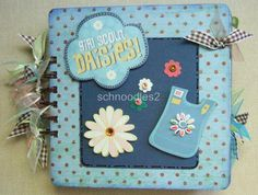 girls scout scrapbook | GIRL SCOUT DAISIES Premade ALBUM JustAddPix OTED | Best Scrapbook ...