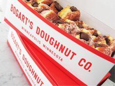Bogart's Doughnut Co. via @Matty Chuah Dieline