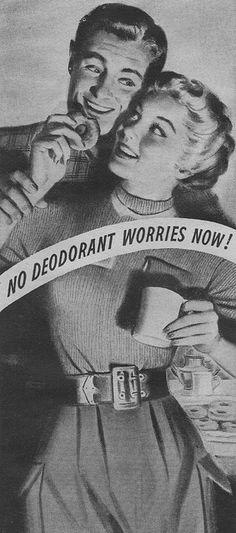Mum Deodorant 1952, via Flickr.