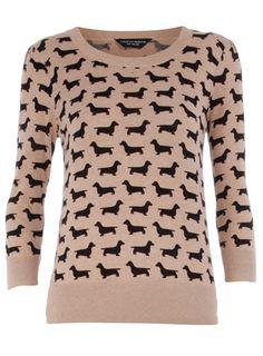 Weiner dog sweater! weenie dogs, sausage dogs, style, dachshund, dog sweaters, sausag dog, weiner dogs, wiener dogs, jumper