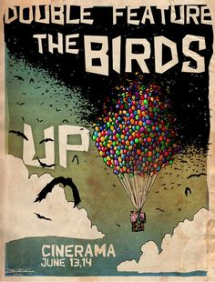 Awesome Movie Mash-Up: The Birds x Up!