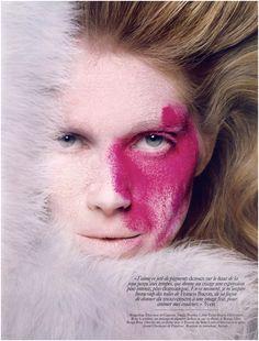 Vogue Paris Beauty shoot