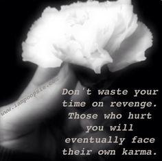 Karma quote via www.IamPoopsie.com