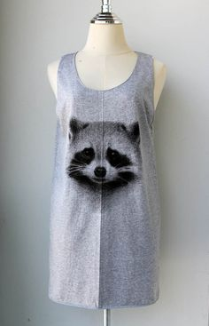Him is cute racoon.