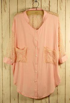 peachy lace