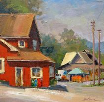 Landscapes - Jim Carson :: Artist :: Saluda, North Carolina