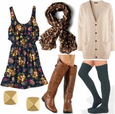 Lovely and comfy fall/winter outfit