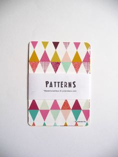 Cards - Geometric and colors - print -