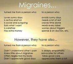 Migraines...