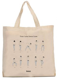 Thom Yorke Guide Dance tote bag