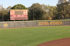 The softball field at Cyclone Sports Complex