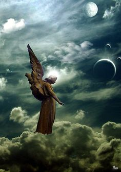 ❥ angel in the heavenlies
