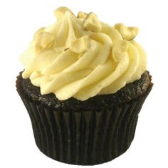 Hazelnut Cupcakes - Our vegan French Chocolate cupcake with a rich ...