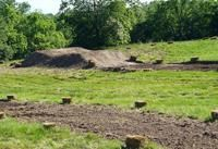 how to build a dirt bike track in your backyard