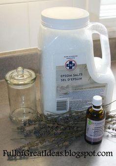 DIY Scented Bath Salts