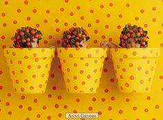 Baby Yellow Buckets