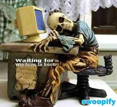 Waiting For Windows To Boot #humor #lol #funny