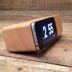 iPhone Alarm Clock Dock -at TROHV   $42.50