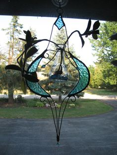 Stained Glass Root Starter by PrismStainedGlass on Etsy, $20.00