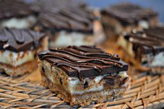 Hugs & CookiesXOXO: COOKIE DOUGH CHEESECAKE BARS TOPPED WITH A CHOCOLATE GLAZE!