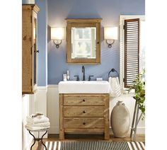 Francis Sconce, Rustic Black finish, pottery barn