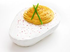 Deviled Egg Cake from #FNMag