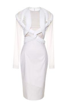 Neo Pleat Organza Dress by Dion Lee $2440