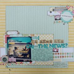 scrapbook page by Shimelle
