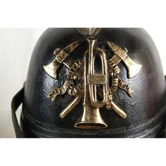 German WWI Rare Fireman's WWI helmet