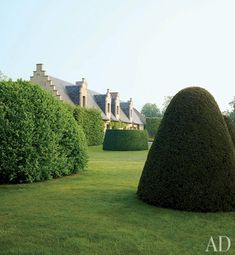 A Heavenly Home and Garden in Belgium : Architectural Digest