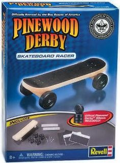 Pinewood derby car!