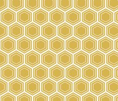 bamboo honeycomb fabric by thebline on Spoonflower - custom fabric