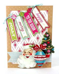 © Anna Griffin, Inc. Christmas Garland Stickers