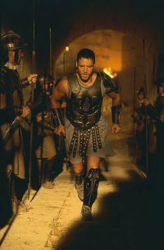 Russell Crowe is just amazing in Gladiator...and Cinderella Man...Robin Hood...best part of Man of Steel...The Next Three Days...