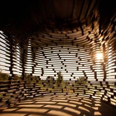Reading between the Lines by Gijs Van Vaerenbergh  #architecture #religious-buildings