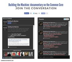 Join the conversation! Building the Machine: Documentary on the #CommonCore. Find us on Twitter: https://twitter.com/CommonCoreMovie AND ON Facebook: https://www.facebook.com/BuildingtheMachine